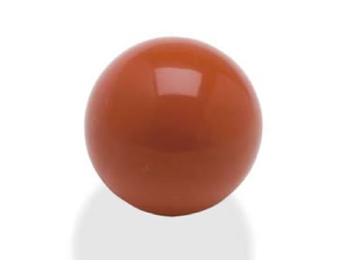 image of red polished rubber