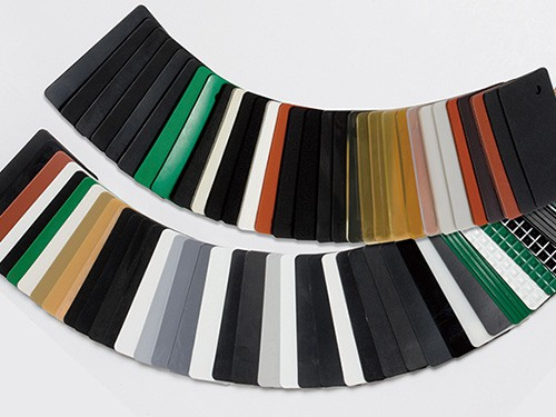 image showing variety of rubber sheets