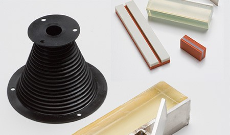 image of cone shape silicon rubber products