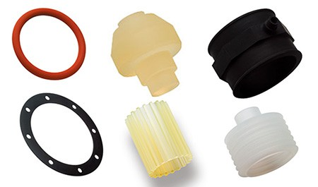 image of several o-ring and rubber products